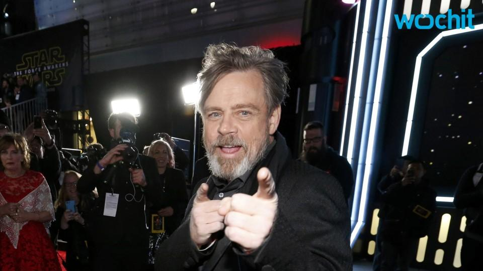 Mark Hamill Says Goodbye to 'Star Wars' Beard