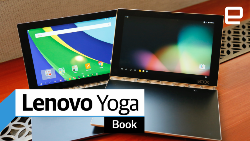 Lenovo Yoga Book: Hands-on