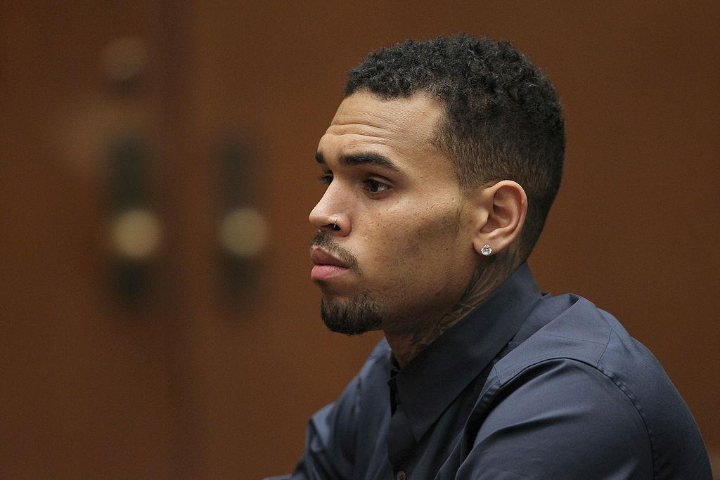 Chris Brown out on bail after arrest for assault with gun