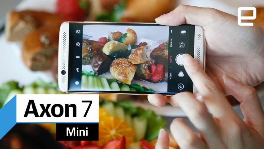 ZTE Axon 7 Mini: Hands-on