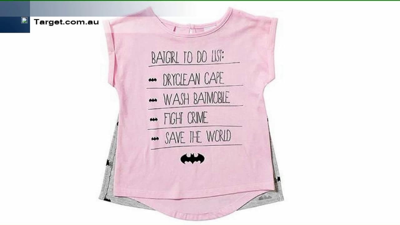 Target Pulls 'Batgirl' T-Shirt After Parents' Complaints