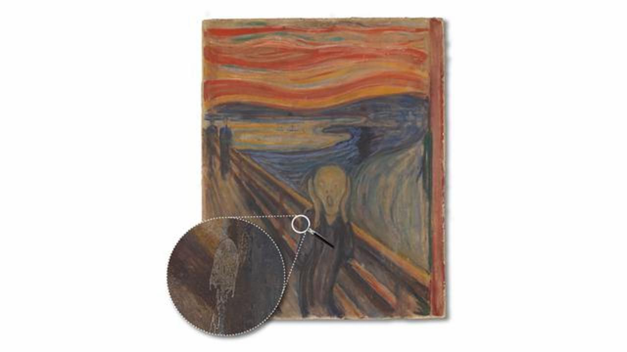 Experts Reveal What Caused Famous White Streaks On Edvard Munch's The Scream