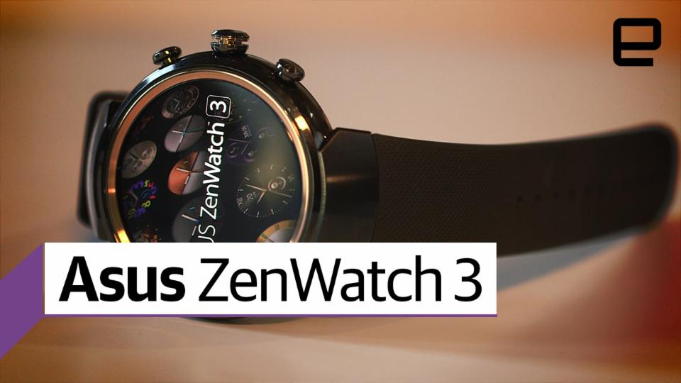 Asus ZenWatch 3 hands on