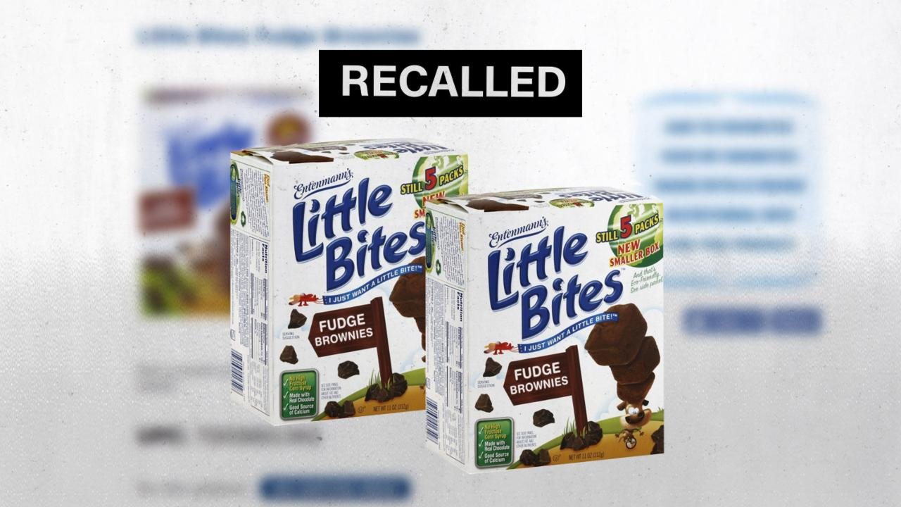 Entenmann's Recalls Little Bite Snacks