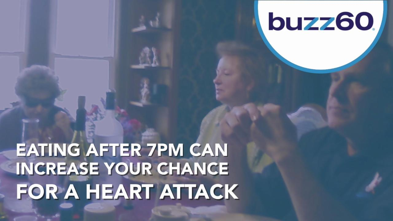 Eating After 7pm Increases Your Risk of Heart Attack
