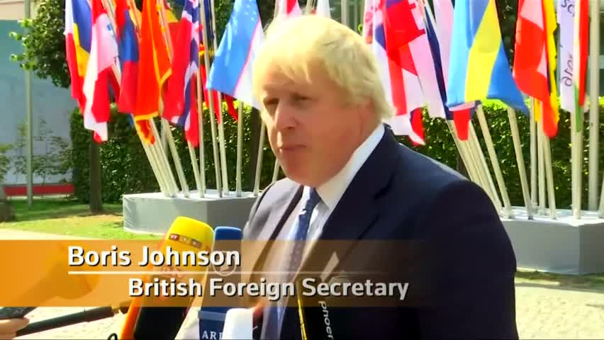 Johnson: 'The United Kingdom Is not Leaving Europe'