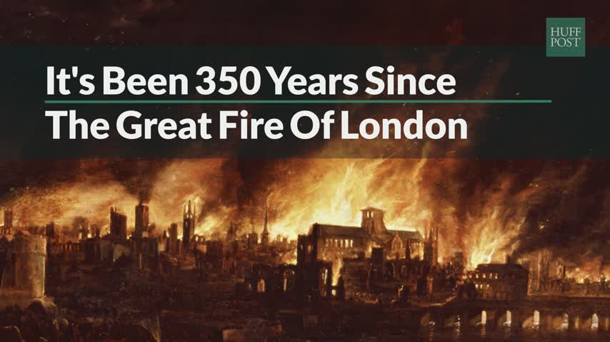 Its Been 350 Years Since Great Fire of London