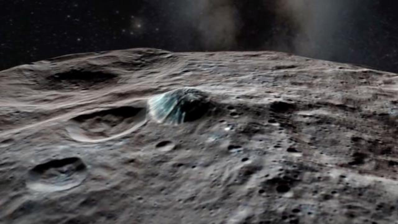 NASA: A Towering Ice Volcano Exists On Ceres