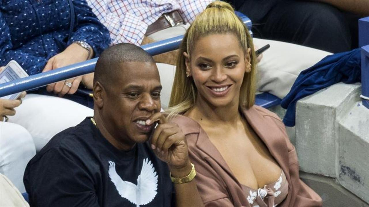 Beyonce and Jay Z Watch Serena Williams at U.S. Open