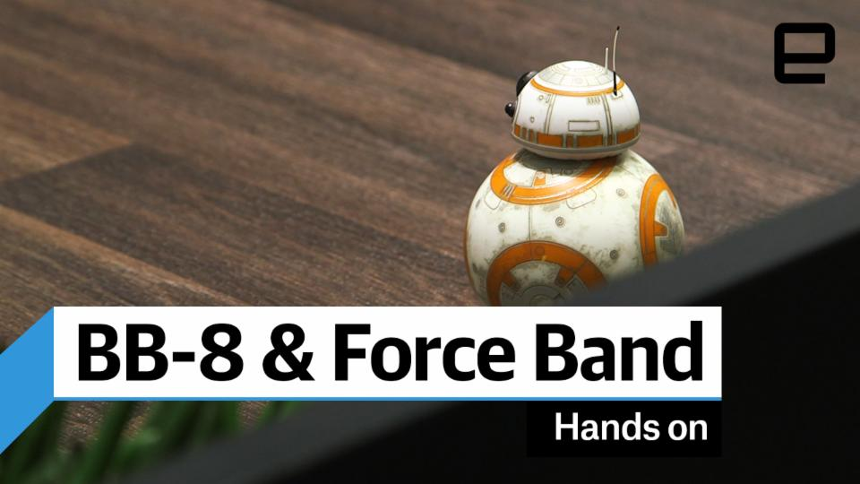 Battle-Worn BB-8 & Force Band Hands-on