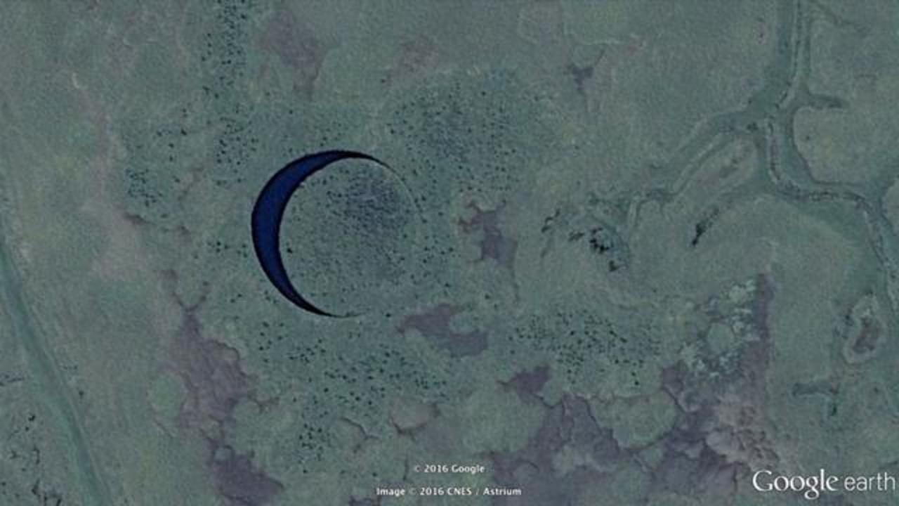 A Mystery Rotating Island 'The Eye' Spotted In Argentina