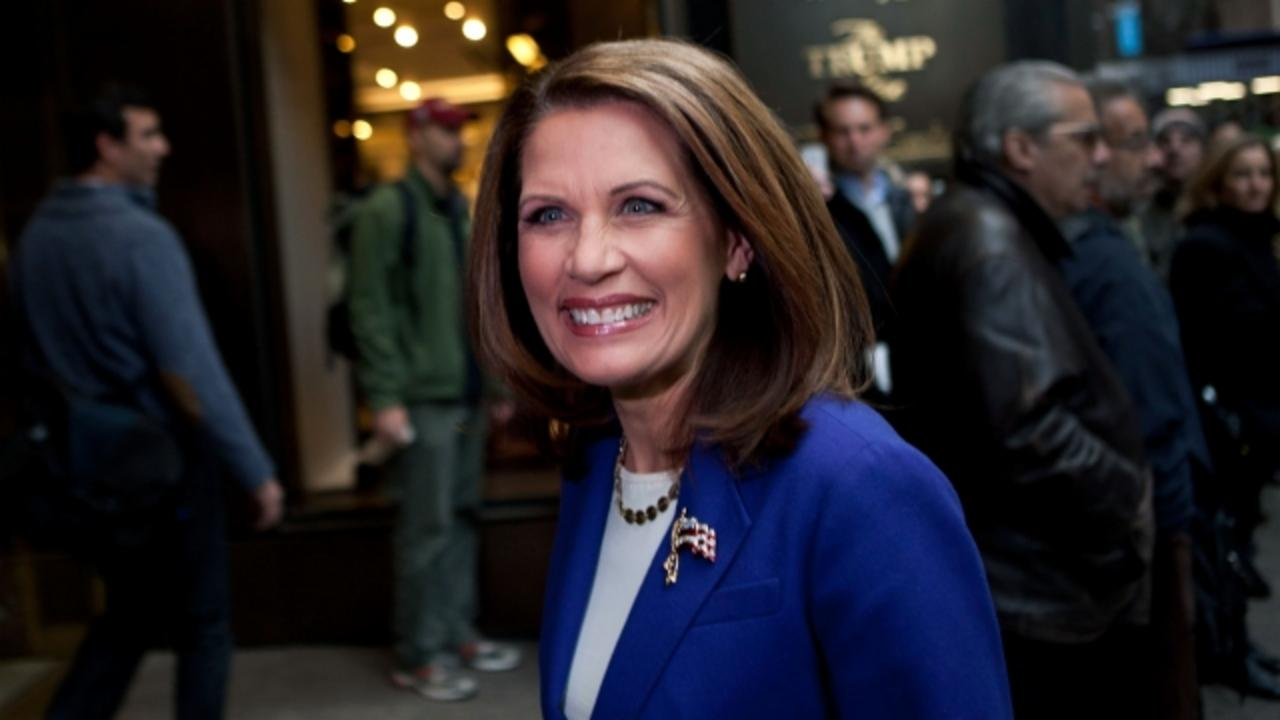 Michele Bachmann Urges Evangelicals to Vote for Trump