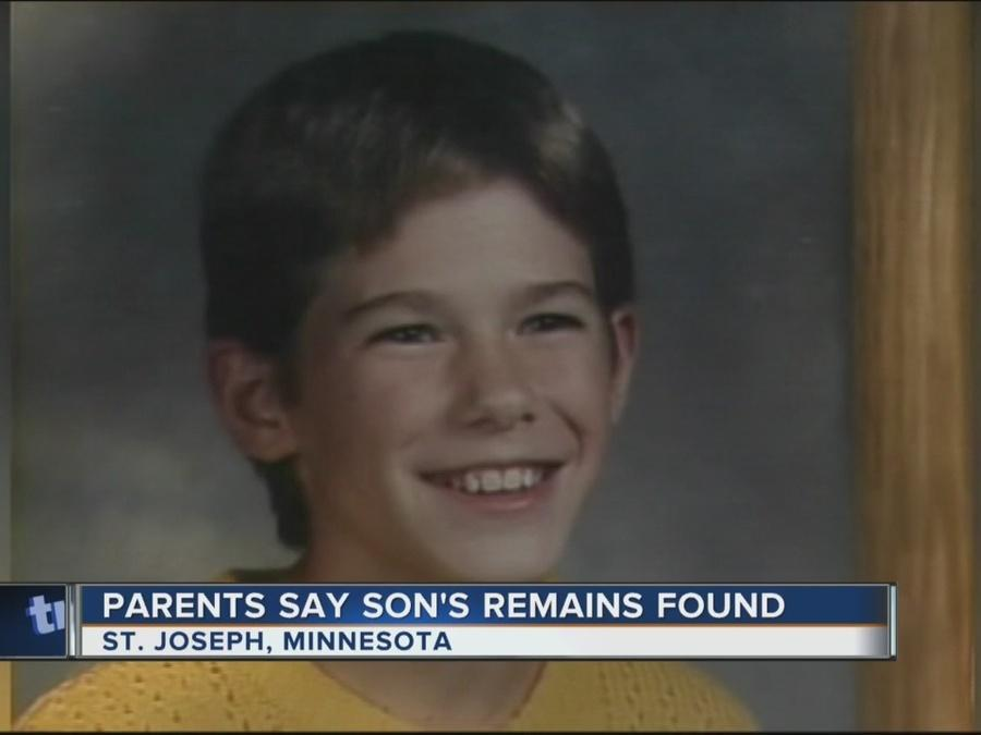 Remains of Jacob Wetterling, Minnesota boy missing since 1989, found