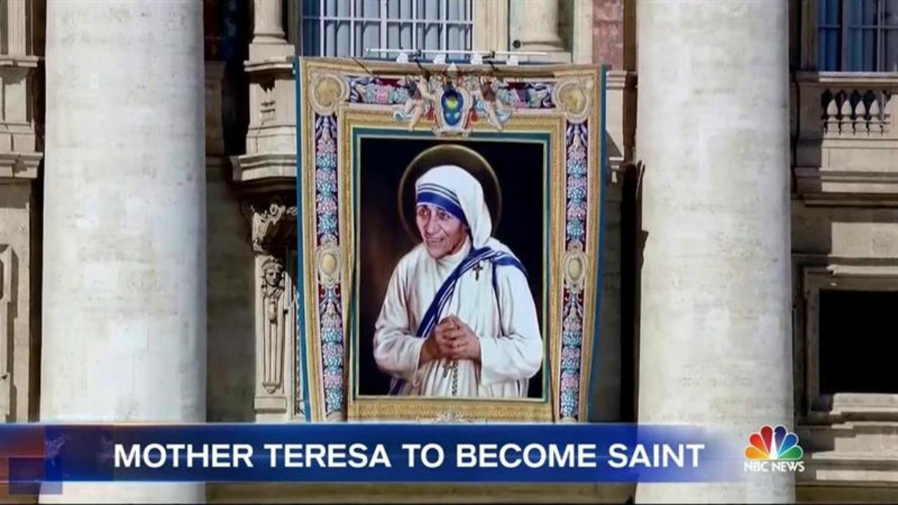 Mother Teresa To Receive High Honor of Sainthood