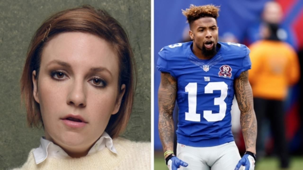 Lena Dunham Apologized for a Joke About NFL's OBJ