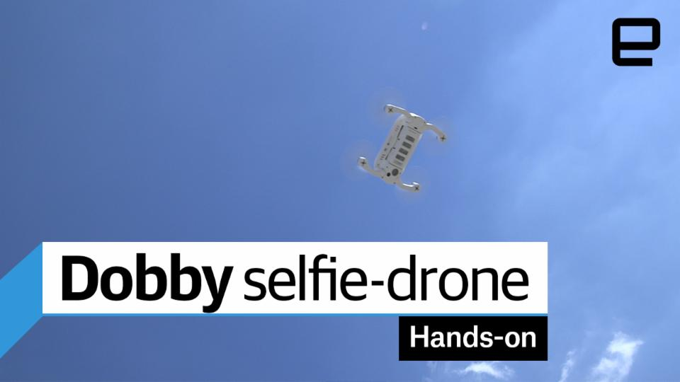 Dobby selfie-drone Hands-on