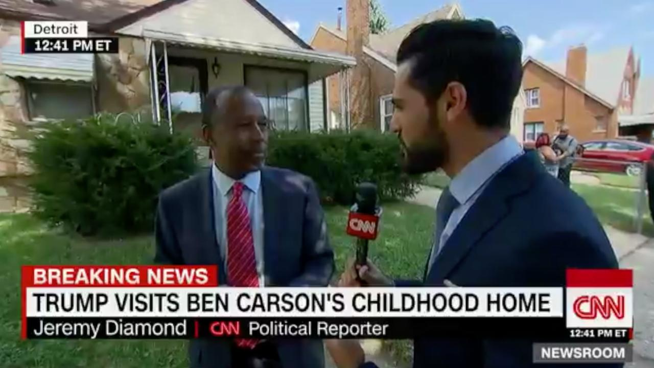 Ben Carson Stops Live Interview To Go Search For His Luggage