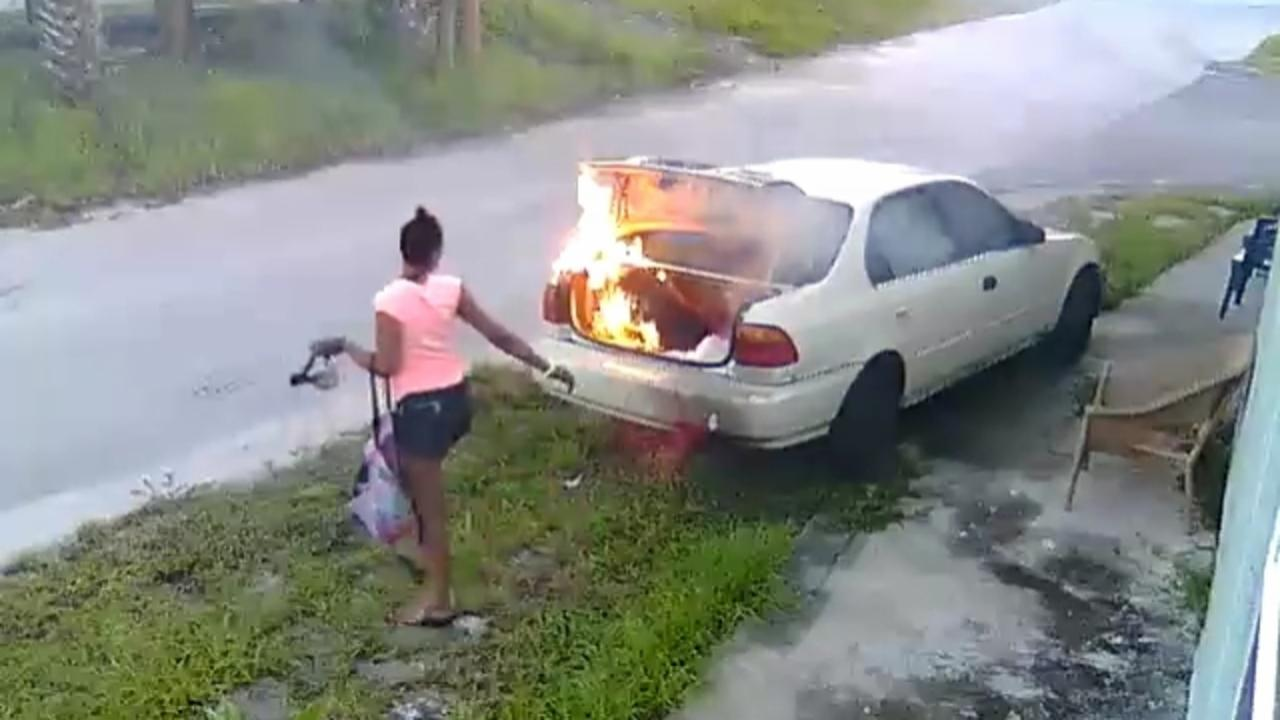 Woman Thought She Set Her Ex's Car on Fire but It Wasn't His