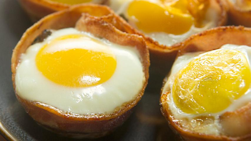 Bacon Egg Breakfast Muffin
