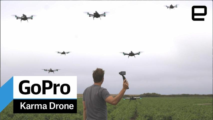 GoPro Karma Drone: Hands-on