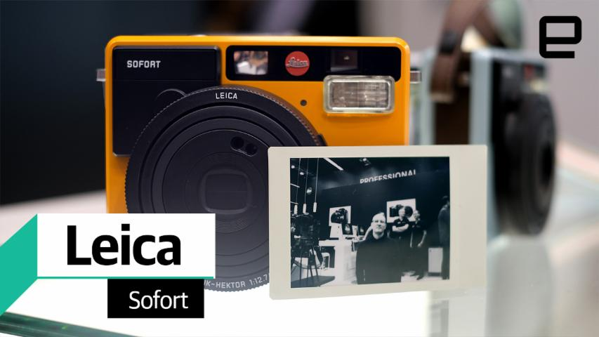 Leica Sofort instant camera and film hands on