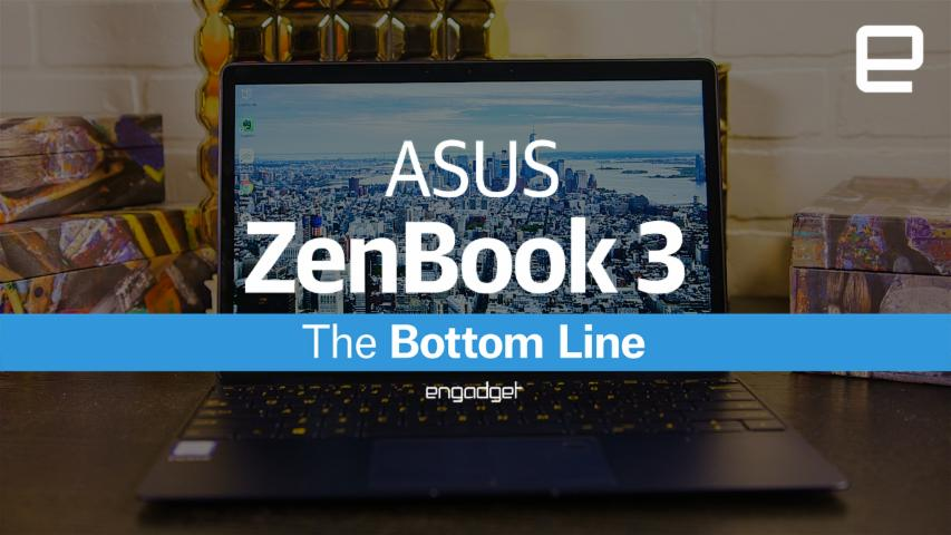 ASUS ZenBook 3: The Bottom Line