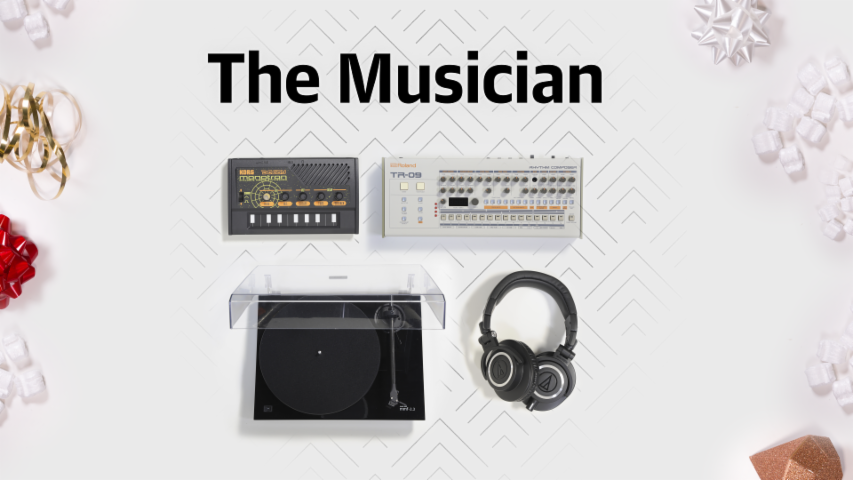 Holiday Gift Guide - The Musician
