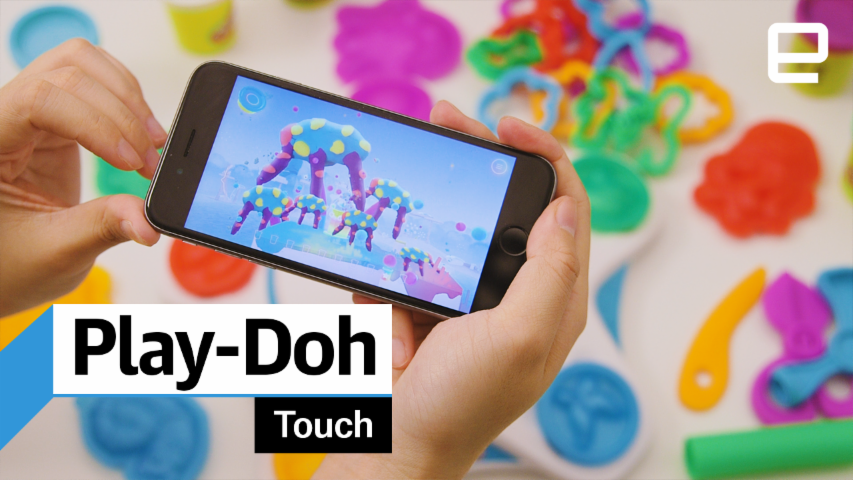 Play-Doh Touch: hands-on