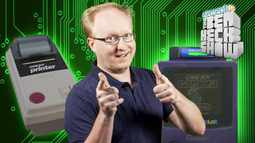 The Ben Heck Show - Episode 263 - Ben Heck Reverse Engineers Game Boy Printer