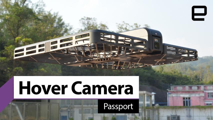 Hover Camera Passport sample video reel