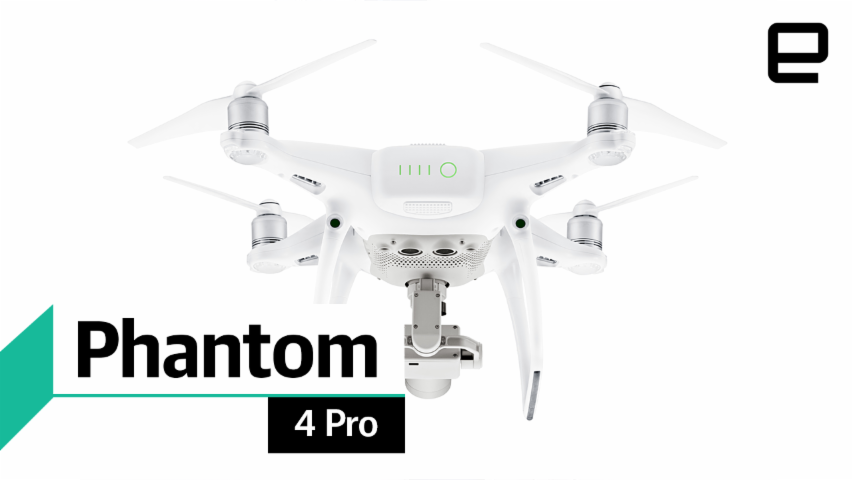 DJI Phantom 4 Pro: first look