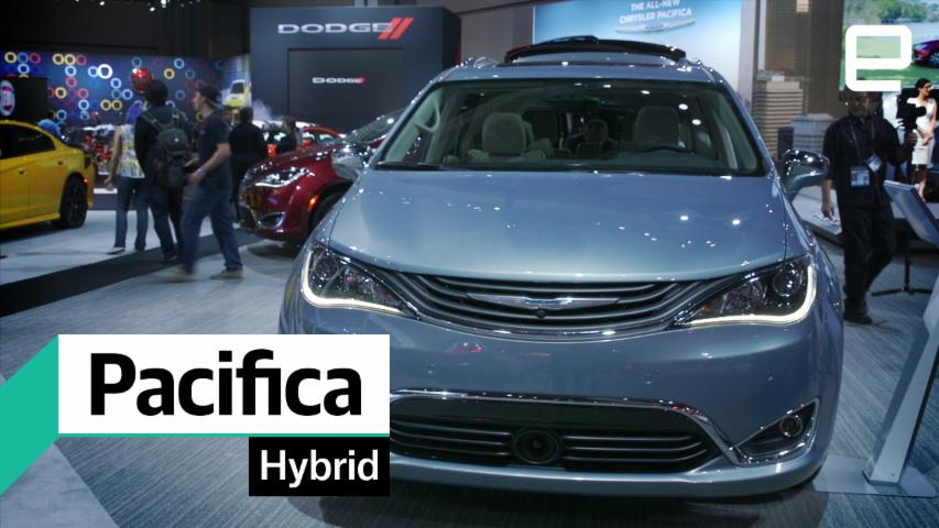 Chrysler Pacifica Hybrid: First Look