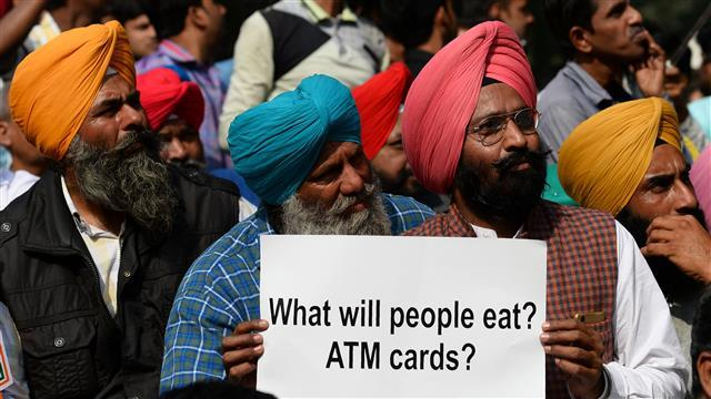 Banknote Ban Creates Trouble for Indians