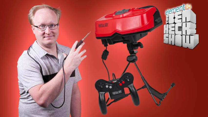 The Ben Heck Show - Episode 266 - Ben Heck's Virtual Boy Part 2:  Rebuild