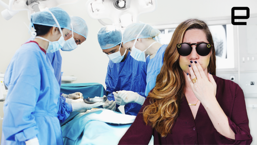 ICYMI: Snap's Spectacles are being used to broadcast surgery