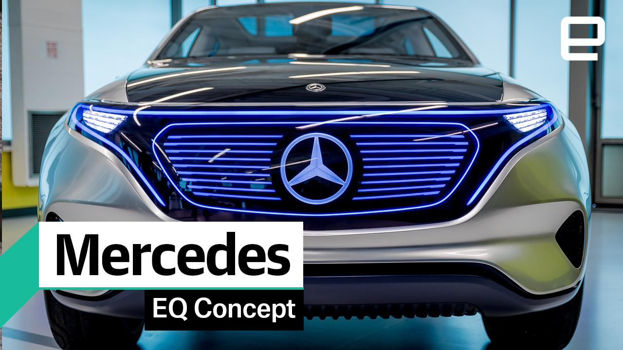 Mercedes EQ: First look