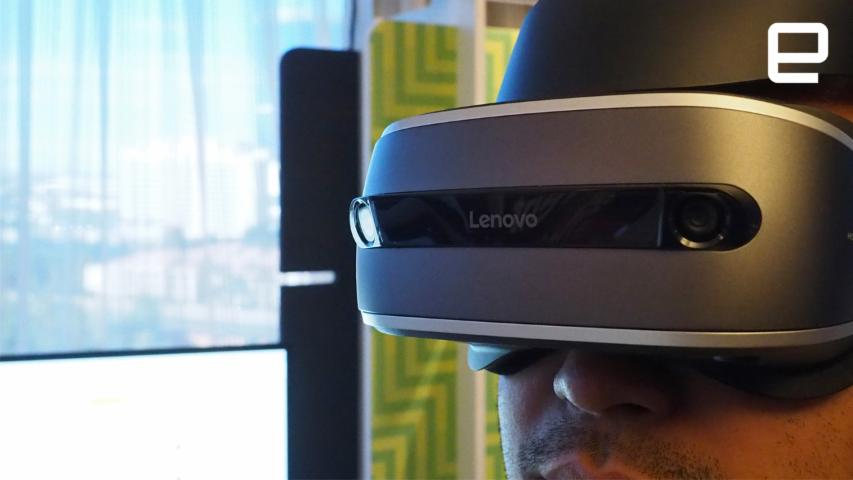 Lenovo's VR Future: Hands On