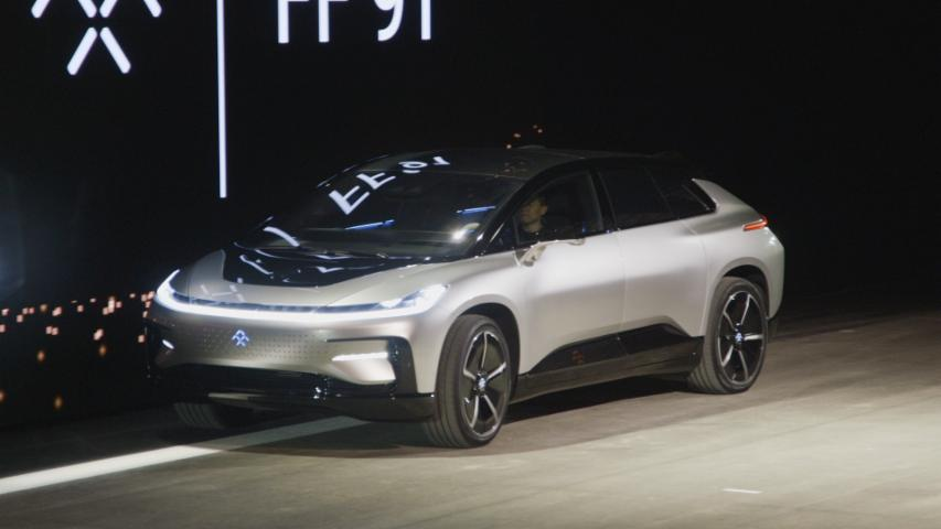 Faraday FF 91: First Look