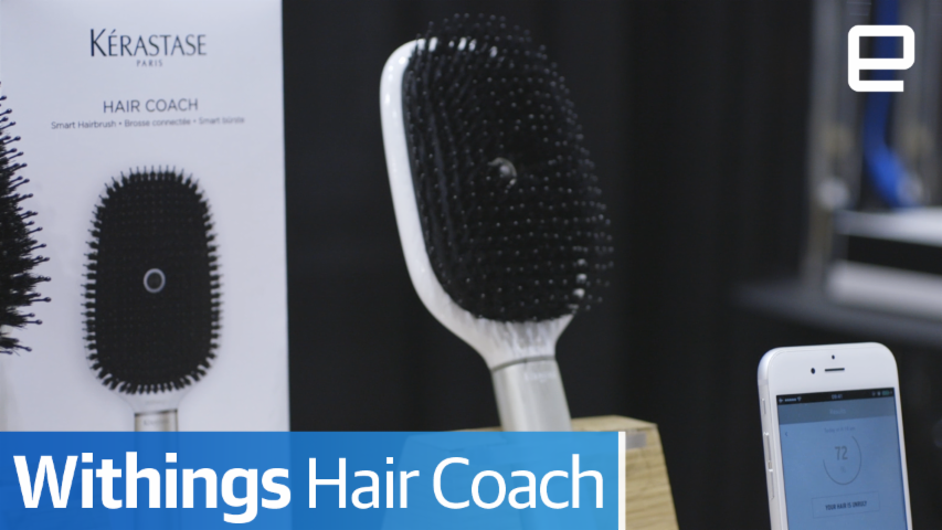 Withings Hair Coach: Hands-on