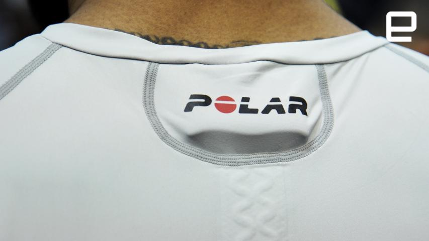 Polar The Team Pro Shirt: Hands-on