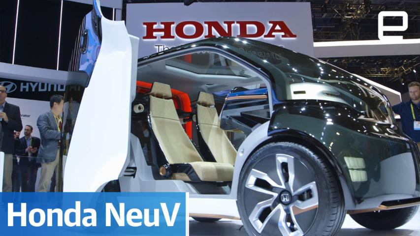 Honda NeuV: Hands-on