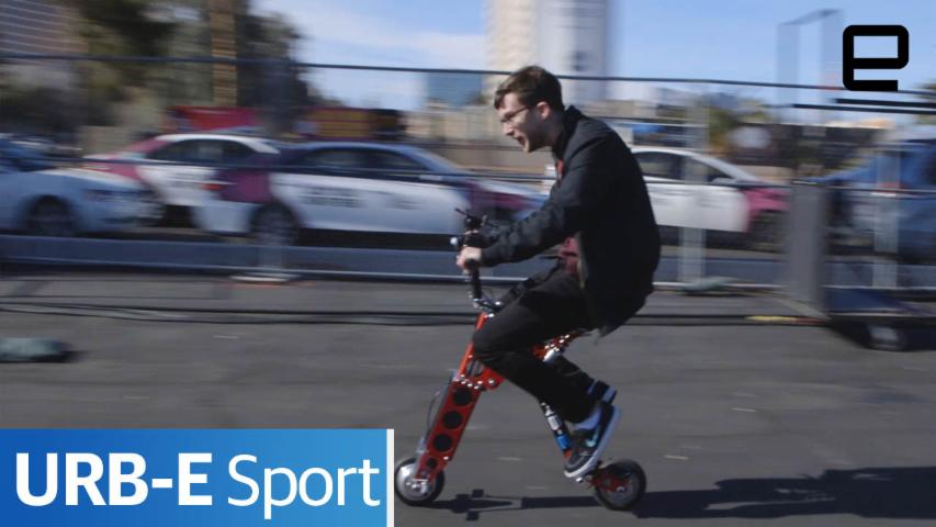 URB-E Sport: Hands On