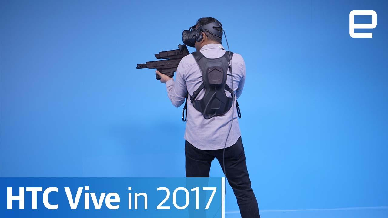 HTC Vive wireless: Hands-on