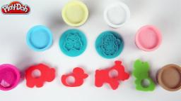 Learn Colors & Shapes Of Animals | Play Doh Confitte | Learn Colors With Play Doh | For Kids