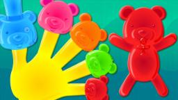 jelly bears | finger family | nursery rhymes song | childrens rhymes