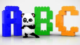 Baby Bao Panda | Learn Alphabets | ABC Song For Kids And Childrens | ABC With LEGO