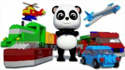 Learn Transport | Baby Bao Panda | Modes Of Transport | Kids Videos