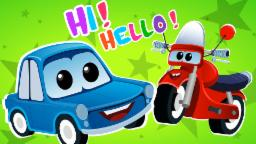 Zeek and Friend | Hi Hello Song | Cars cartoons Original Song