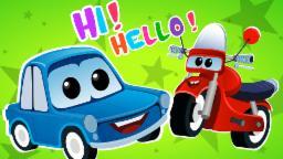Zeek and Friend | Hi Hello Song | Cars cartoons Original Song