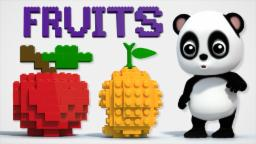 Learn Fruits | Baby Bao Panda | Fruits Songs For Kids And Childrens | Fruits With Lego